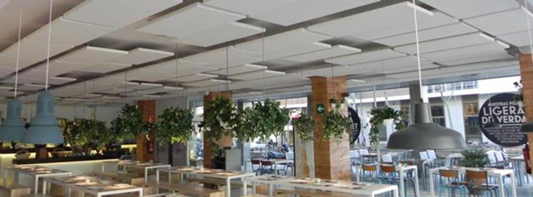 ECOPHON, la solución al ruido en los restaurantes