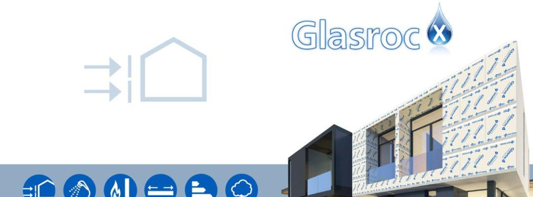 GLASROC® X, Placa para fachada Placo, semi-intemperie y zonas humedas